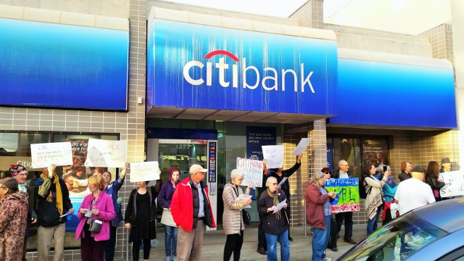 protest-at-citibank-albany