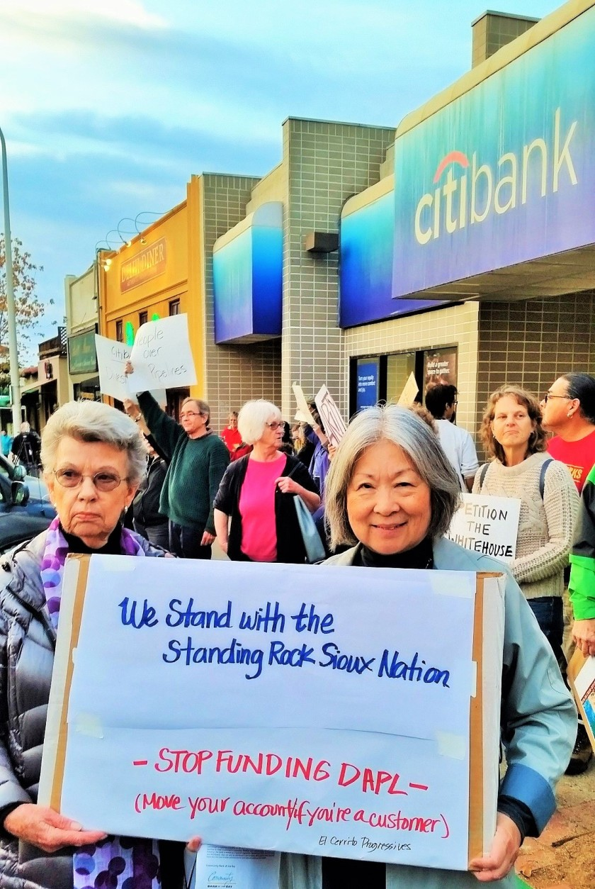 Protest at Citibank-Albany11