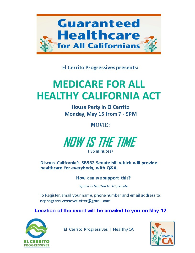 Medicare For All Healthy CA