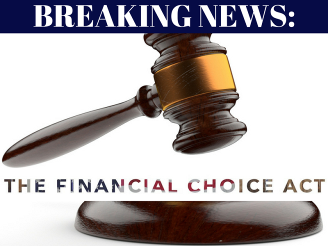 BREAKING NEWS-CHOICE Act 2017