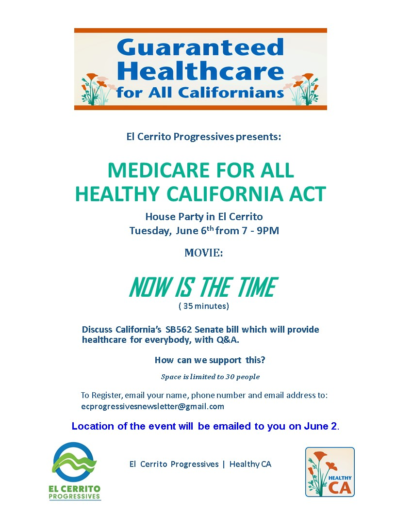 On PowerPoint - Medicare For All Healthy CA1 - Sherry