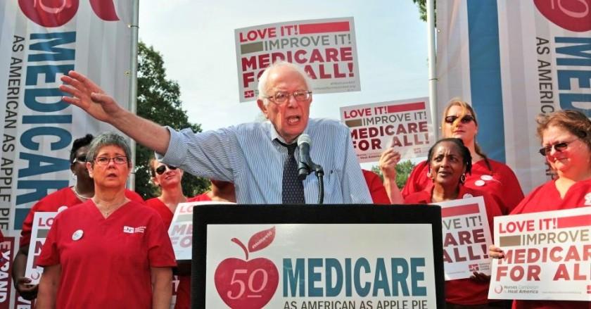 Bernie Sanders CA Nurses SF Convention