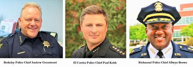 East Bay Police Chiefs