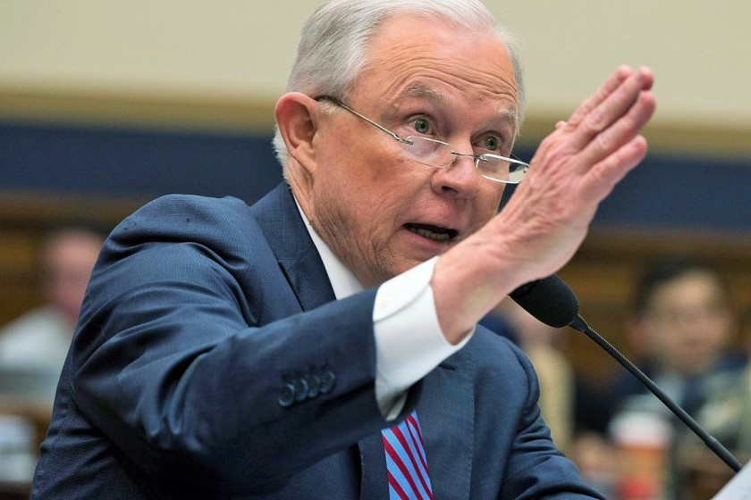 Sessions announces Trump suit against California_0