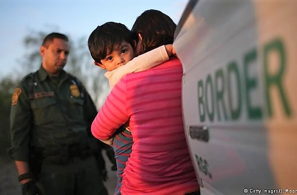 Immigrant children separated from parents