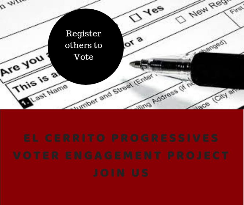 EL CERRITO PROGRESSIVESVOTER ENGAGEMENT PROJECTJOIN US (1)